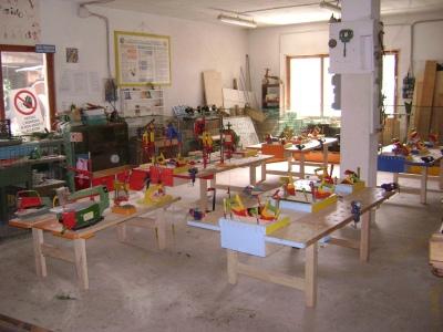 Falegnameria per bambini di gino chabod for Piccoli piani domestici con costi da costruire